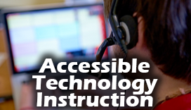 Click here to Accessible Technology Information